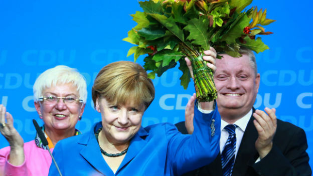 Die grosse Wahlsiegerin heisst Angela Merkel