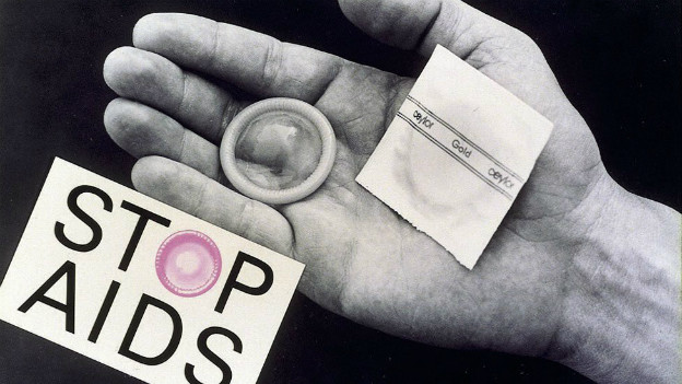 Archivbild: Stop-Aids-Kampagne des BAG 2011.