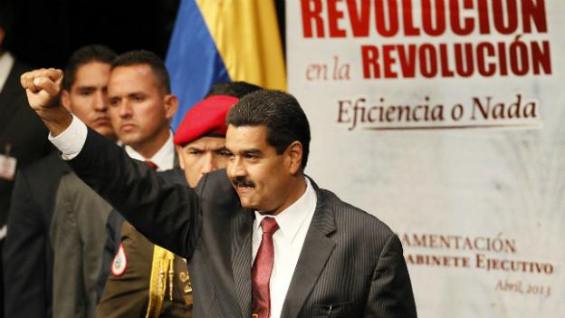 Der Revolution verpflichtet: Venezuelas Präsident Nicolas Maduro.