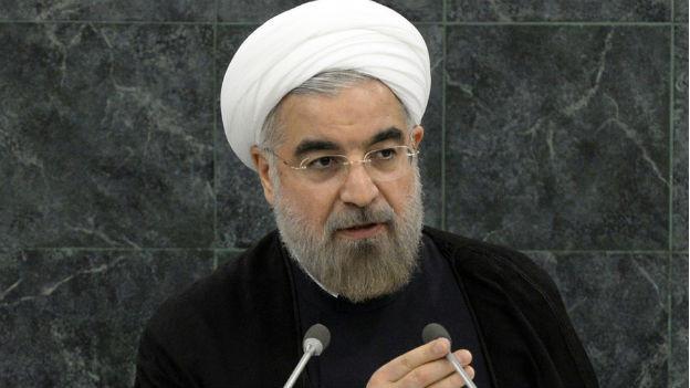 Irans Präsident Rohani bei seinem Auftritt vor der UNO-Vollversammlung.