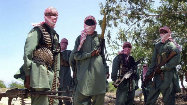 Kämpfer der Al Shabab-Miliz