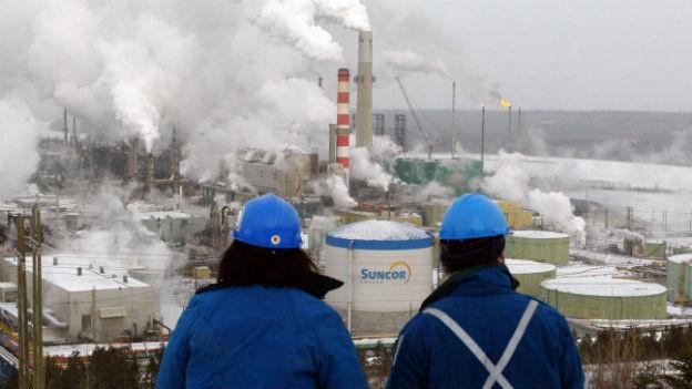 Ölraffinerie in Kanada