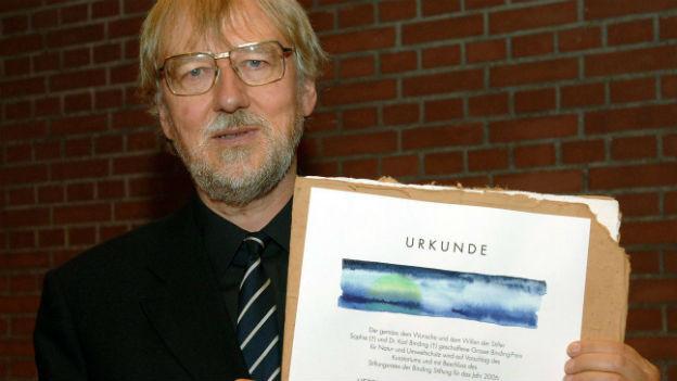 Der Stifter des Alternativen Nobelpreises, Jakob von Uexkuell.