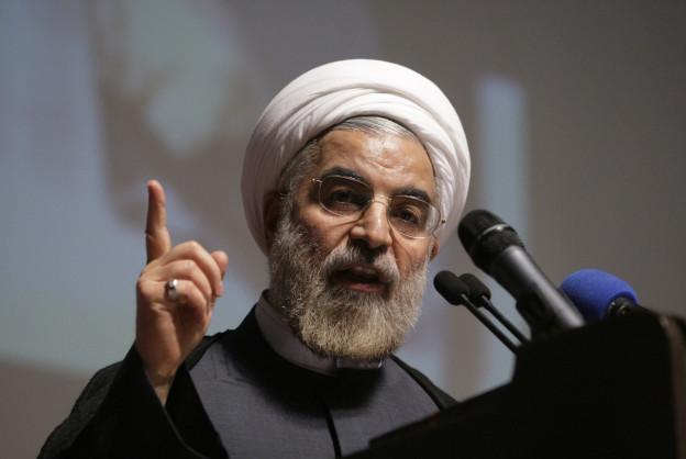 Verantwortlich für die Annäherung an den Westen: Irans neuer Präsident  Hassan Rohani.