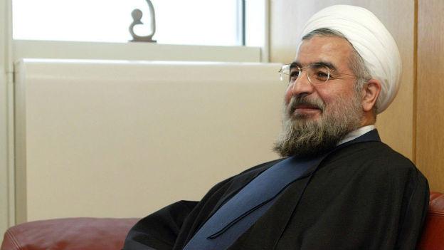 Irans neuer Staatspräsident Rohani.