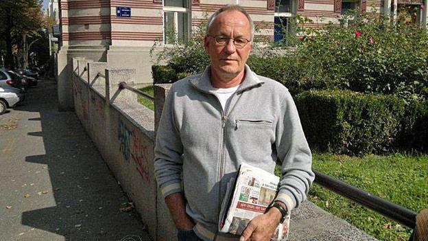 Walter Müller. Der Südosteuropa-Korrespondent lebt in der serbischen Hauptstadt Belgrad.