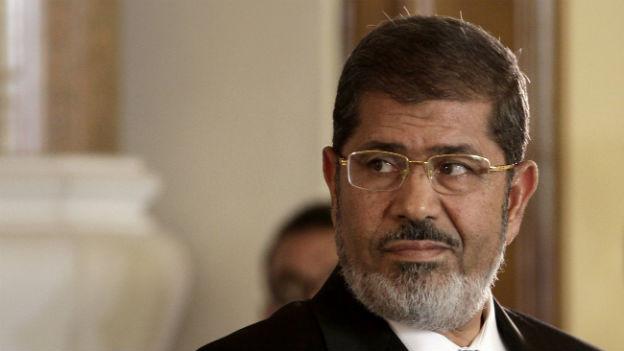 Mursis Aufenthaltsort ist seit seiner Entmachtung unbekannt.