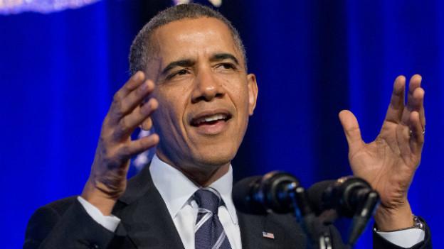 Vor einem Jahr wiedergewählt: US-Präsident Barak Obama