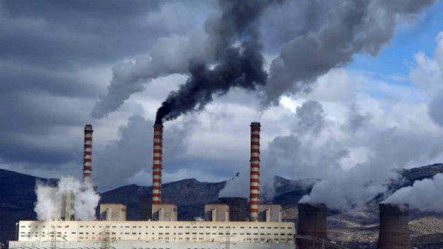 Braunkohlekraftwerk Aghios Dimitrios in Kozani.