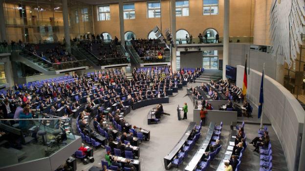 Angela Merkel am 18. November 2013 im Bundestag