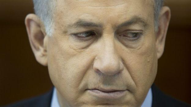 Israels Premier Netanyahu verurteilt das Atomabkommen mit Iran.