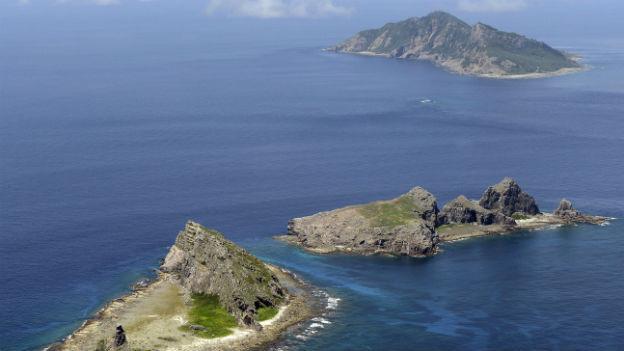 Um diese Inselgruppe im Ostchinesischen Meer wird gestritten.