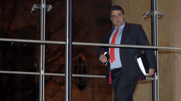 SPD-Vorsitzender Sigmar Gabriel.