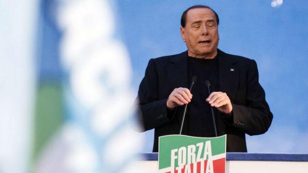 Ist nun ohne Senatorentitel und Immunität: Silvio Berlusconi.
