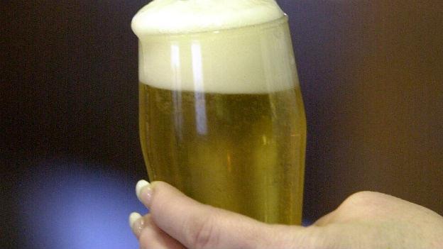 Alkohol für Alkoholiker in Amsterdam.