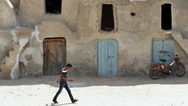 Alltag in einem tunesischen Dorf.