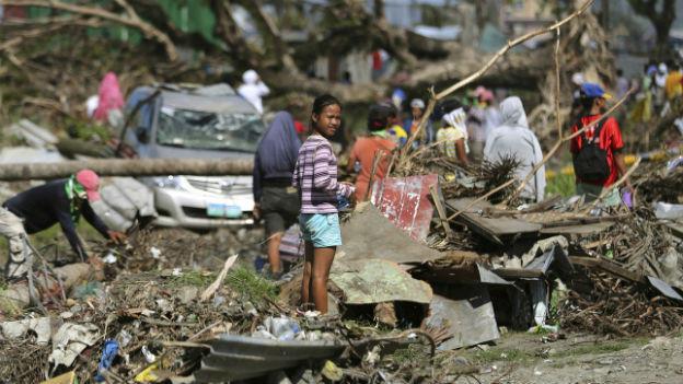 Die Zerstörung ist überall noch sicht- und spürbar.