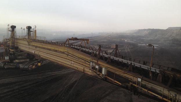Weitläufig: In der Grube Vrsanska werden bis 2050 noch 300 Mio Tonnen Braunkohle gefördert.