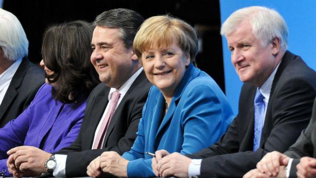 Freundlich, aber bestimmt: Bundeskanzlerin Merkel versteht das Machthandwerk.