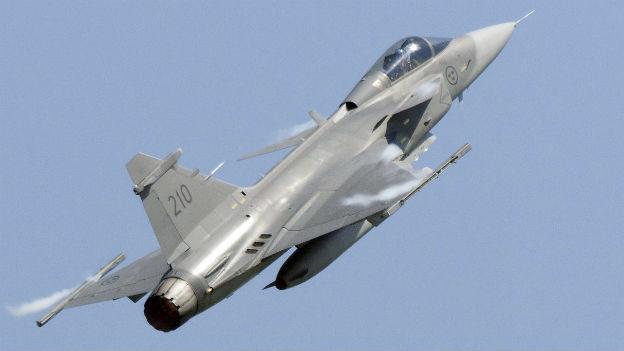Brasilien kauft als erstes Land den schwedischen Kampfjet Gripen