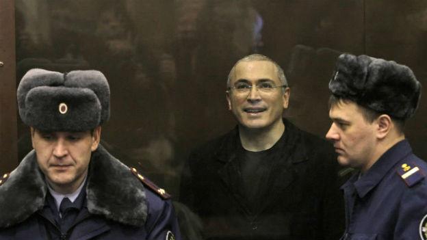 Michail Chodorkowski: Die lange Zeit in Gefangenschaft ist vorbei.