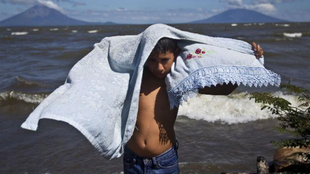 Sorge um sauberes Wasser: Der Kanal soll durch den Nicaragua-See führen.
