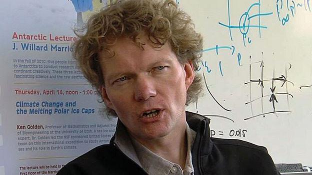 Der Geophysiker Hajo Eicken.