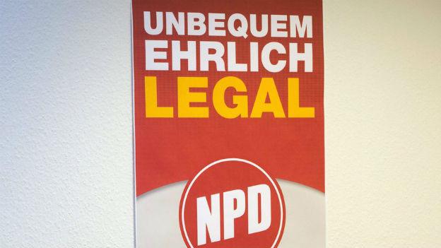 Hat massive Finanz- und Personalprobleme: die deutsche NPD.