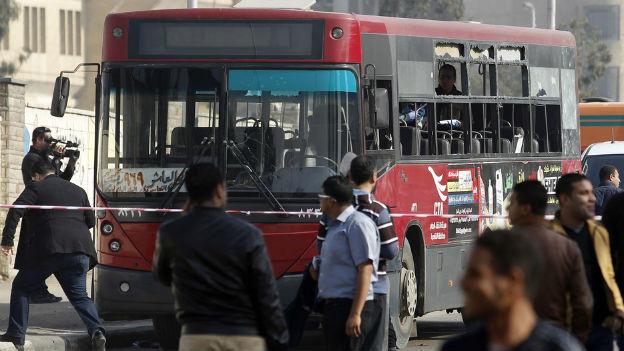 Anschlag auf einen Bus in Kairo: Die Lage droht zu eskalieren.