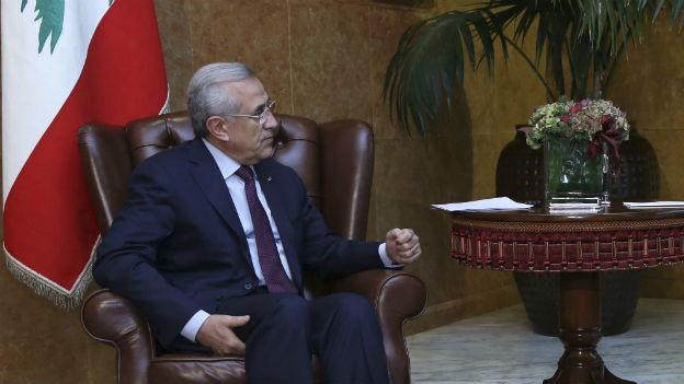 Libanons Präsident Michel Suleiman.