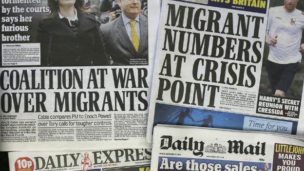 Grossbritannien fürchtet einen Einwanderer-Ansturm