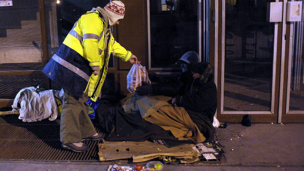 Obdachlose in Ungarn dürfen sich nicht mehr überall aufhalten.