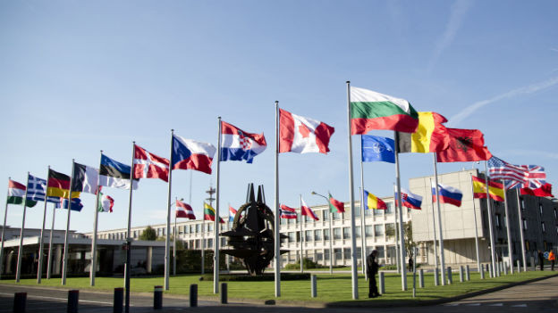 Nato-Hauptsitz.