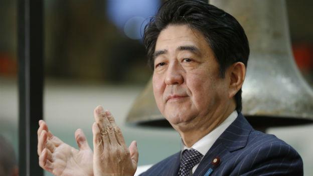 Shinzo Abe ist in China nicht willkommen.