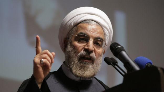 Der iranische Präsident Hassan Rohani