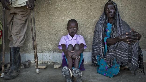 Die Menschen im Südsudan sind auf humanitäre Hilfe angewiesen.