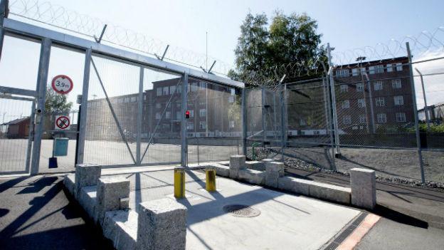 Gefängnis ausserhalb der norwegischen Hauptstadt Oslo.