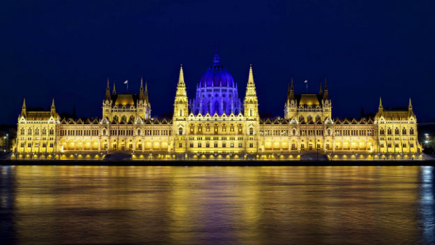 Parlament in Budapest.