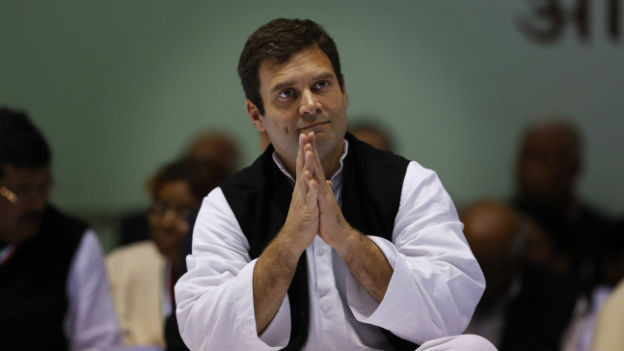 Rahul Gandhi kandidiert für die Wahlen im Mai