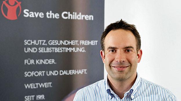 Jérôme Strijbis von Hilfswerk «Save the Children».