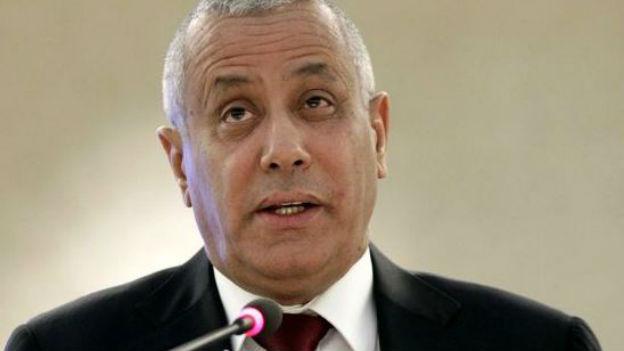 Libyens Regierungschef Ali Seidan.