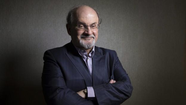 Der britische Schriftsteller Salman Rushdie