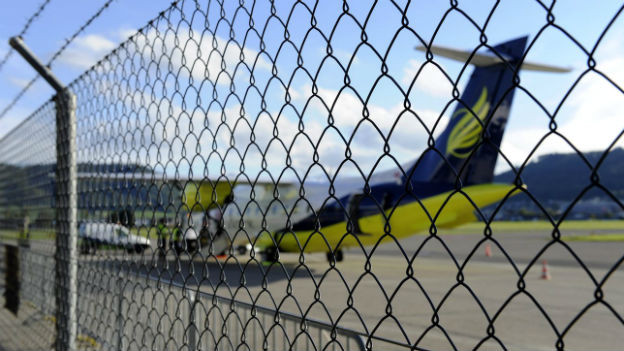 Die Regionalfluggesellschaft Skywork am Flughafen Belp.