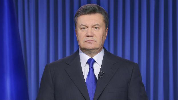 Der ukrainische Präsident hält eine Fernsehansprache