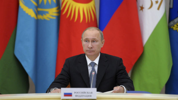Russlands Präsident Putin ist ein harter Verhandler.