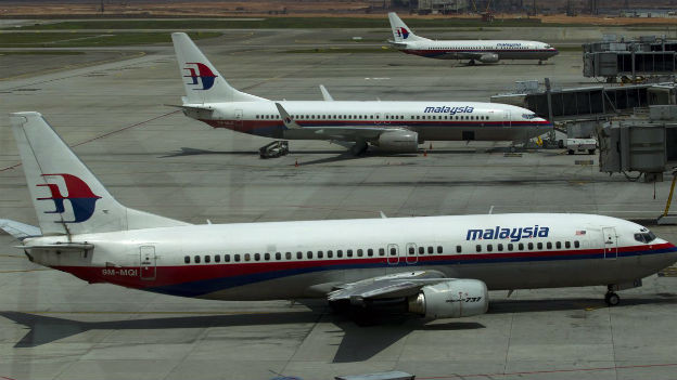 Eine Maschine der Malaysia Airlines ist vermutlich abgestürzt