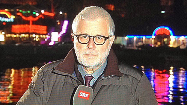 Peter Gysling am 16. März in Sewastopol.