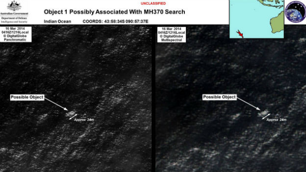 Australien will Teile des seit Tagen verschollenen Passagierflugzeugs aus Malysia entdeckt haben.