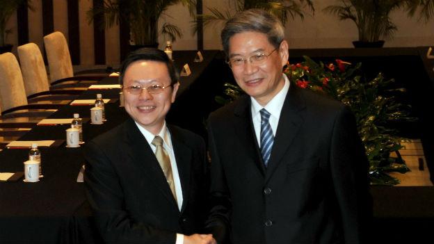 Historisches Treffen zwischen China und Taiwan.