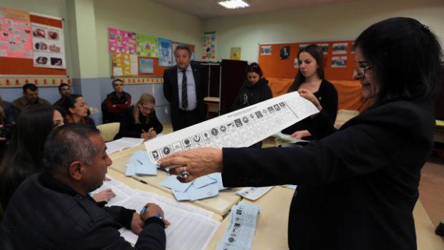Kommunalwahlen in Ankara vom 30. März 2014.